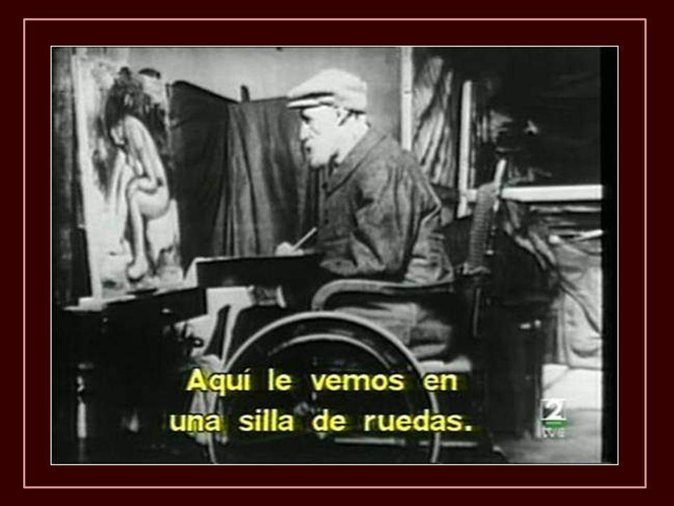 En 1907 pesant 49 kilos et ne peut guère s'asseoir. Après 1910 pas pouvoir marcher et déjà naviguer avec des béquilles et était cloué dans un fauteuil