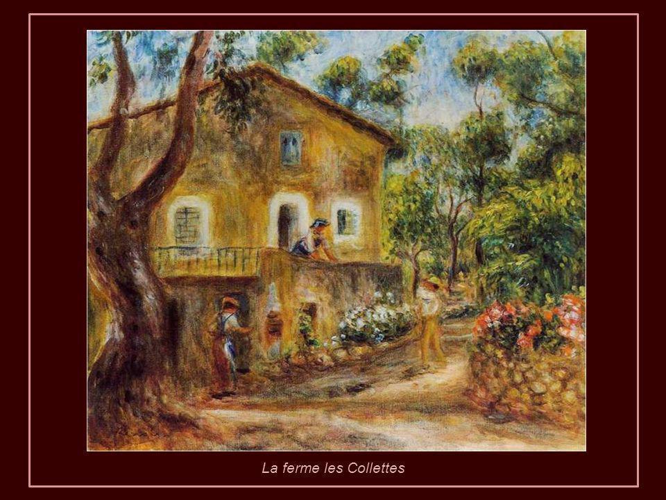 Renoir croyait que les visites étaient vraiment bénéfiques pour lui. Pour cette raison, quand déjà il ne pouvait pas bouger, est devenu sédentaire à L