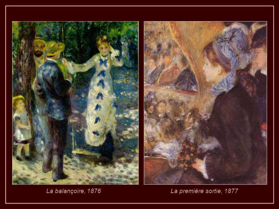 A gauche : Renoir en 1915, l image montre la cachexie polyarthrite rhumatoïde.