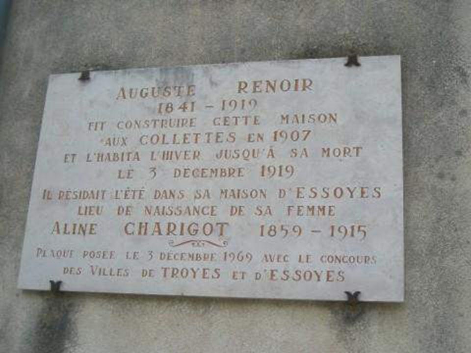 Tombeau de la famille Renoir à Essoyes