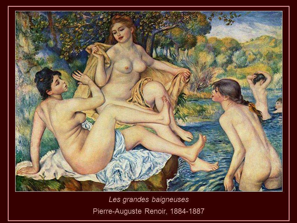 Dans le jardin, 1885Parapluies, 1886