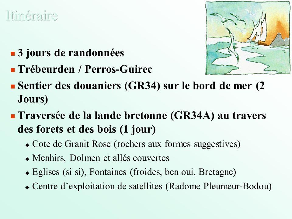 Du Samedi 21 Août au Dimanche 29 Août 2004 Sur la Cote de Granit Rose, à Trébeurden Au programme: Sport Rando (3 jours) Baignade (si si, en piscine) Options: Voile (ou optimiste), Cheval (ou poney), Rugby sur la plage (ou freesbe) Tourisme / Découverte des Cotes dArmor