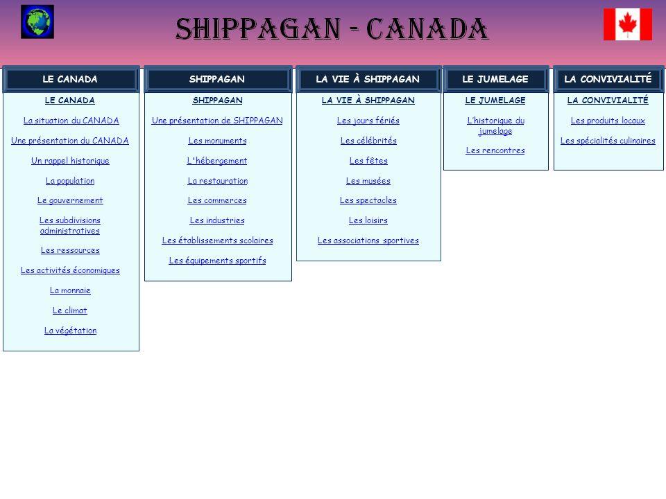 LHISTORIQUE DU JUMELAGE Le jumelage entre Shippagan au Canada et Loudun en France a été scellé en 1981 en présence de M.