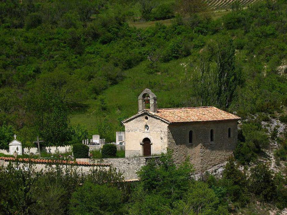 La chapelle de Rottier ( secteur La Charce )