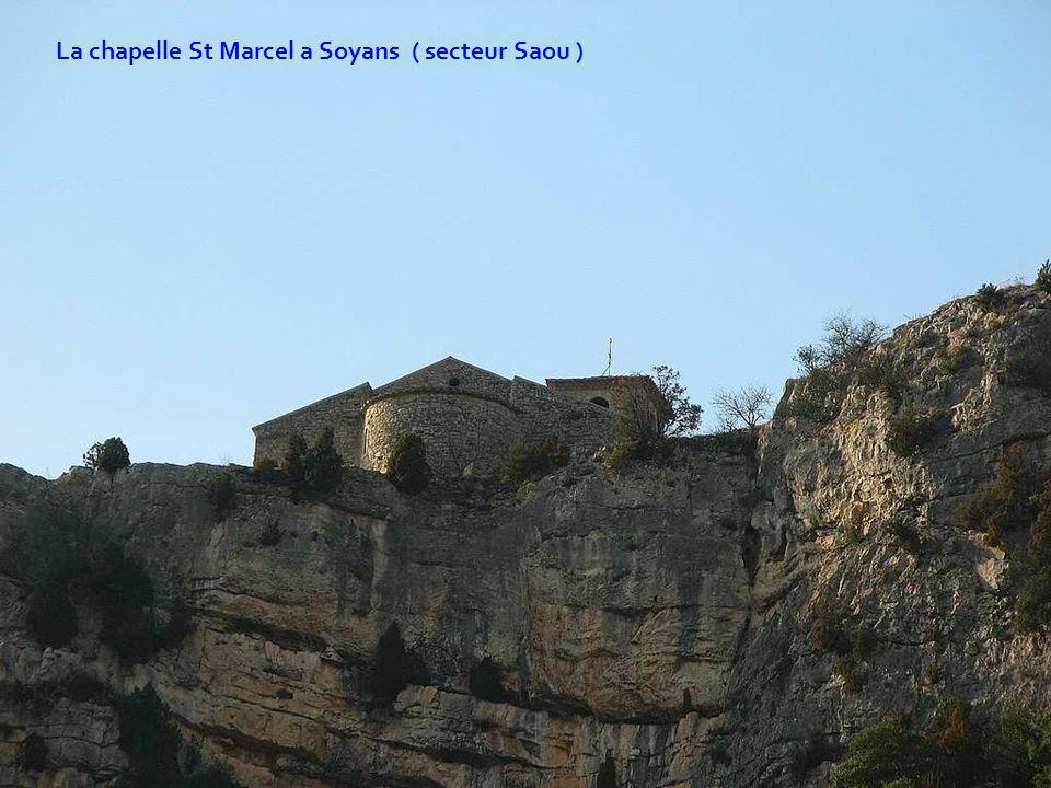La chapelle St Marcel a Soyans ( secteur Saou )