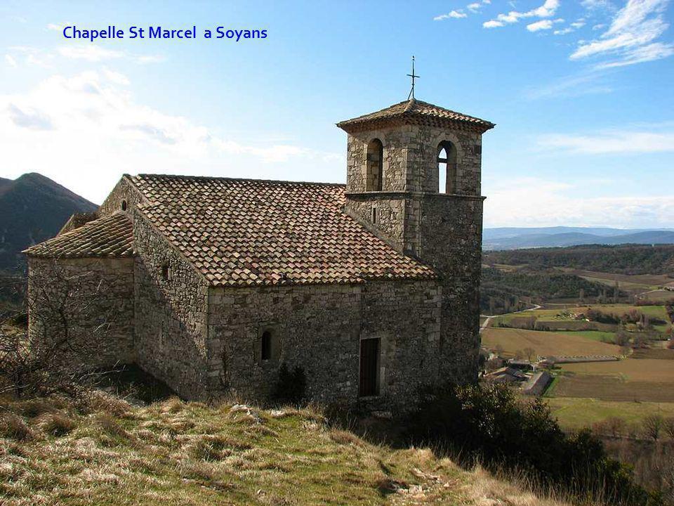 Chapelle St Marcel a Soyans