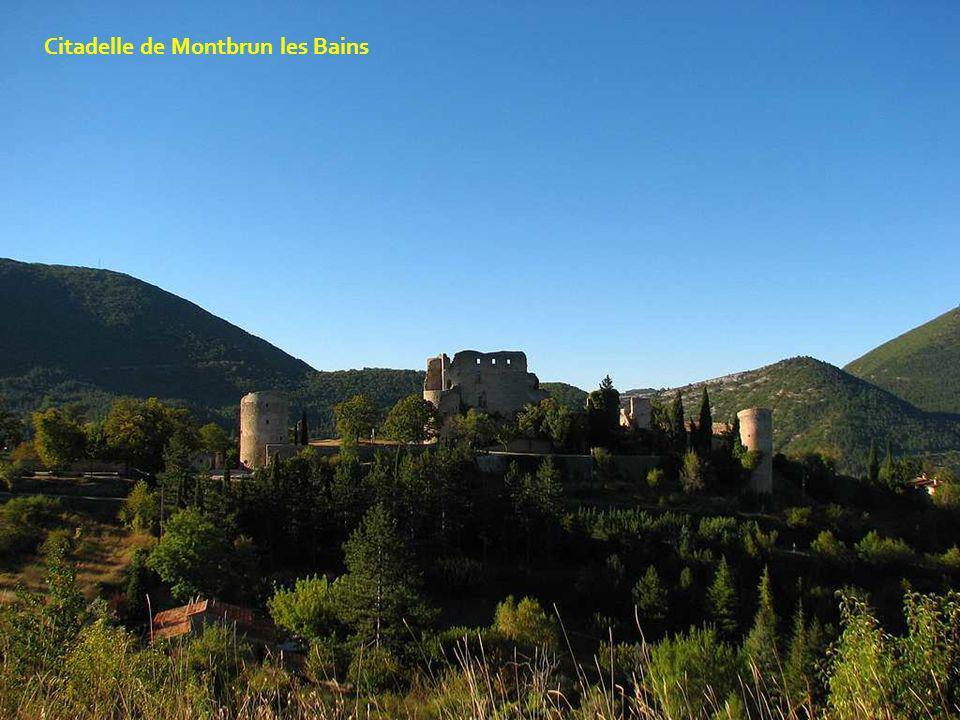 Citadelle de Montbrun les Bains