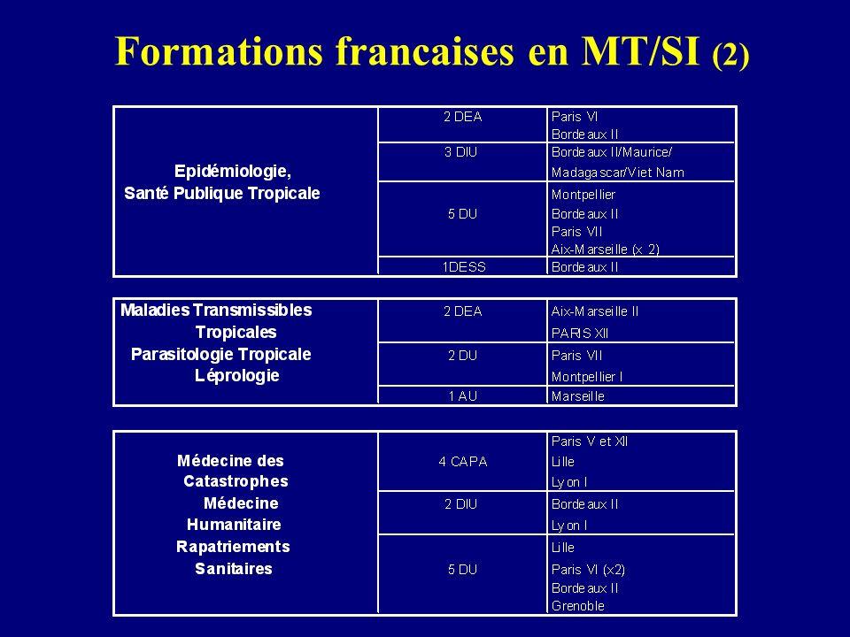 Formations francaises en MT/SI (2)