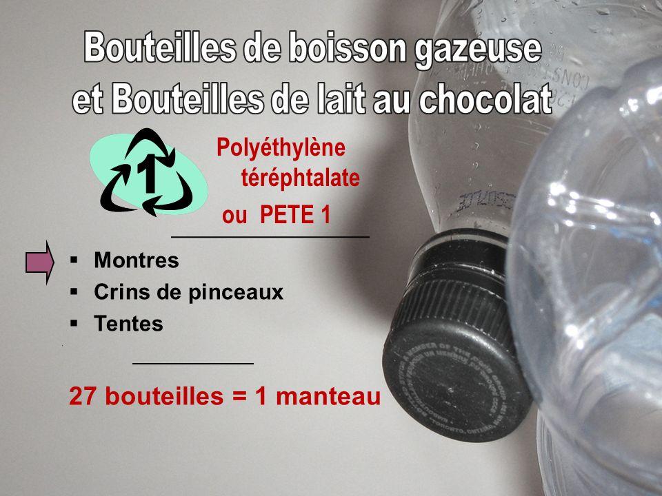 Polyéthylène ou HDPE, LDPE soit le plastique 2 et 4 Bancs de parc Tuyaux de drainage