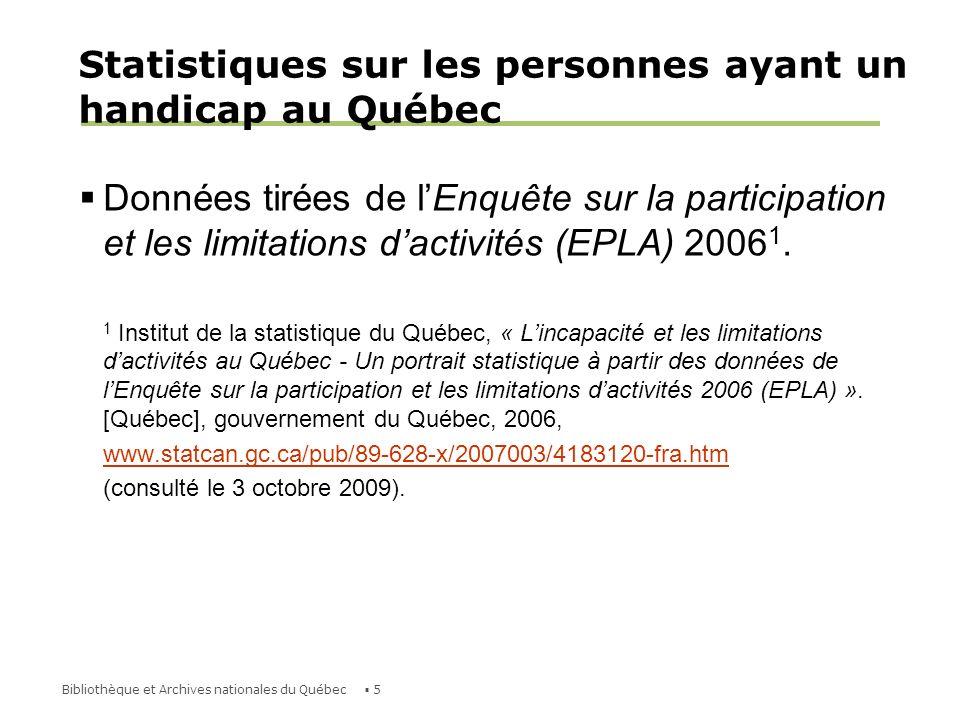 16Bibliothèque et Archives nationales du Québec Troubles dapprentissage Le trouble dapprentissage le plus connu est la dyslexie, qui désigne une difficulté à lire et à écrire qui dure toute la vie.