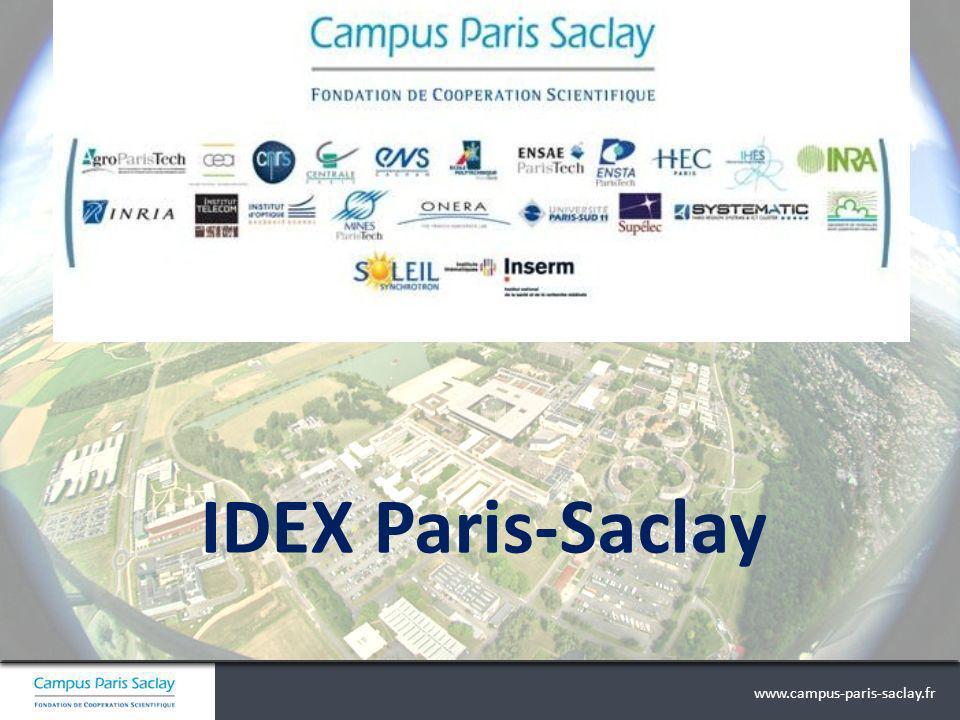 www.campus-paris-saclay.fr IDEX Paris-Saclay