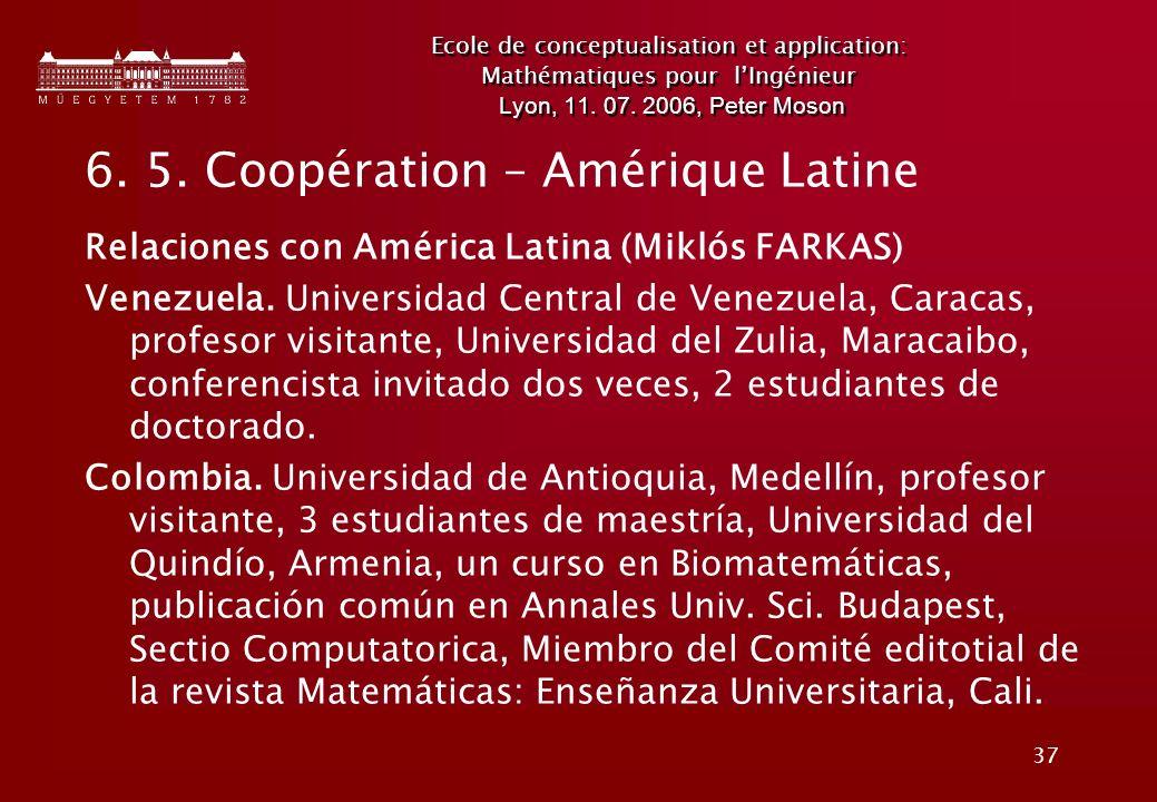 37 Ecole de conceptualisation et application: Mathématiques pour lIngénieur Lyon, 11.