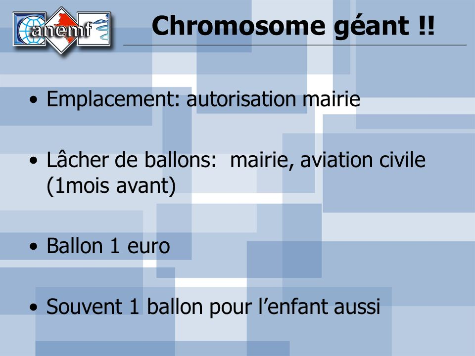 Chromosome géant !.