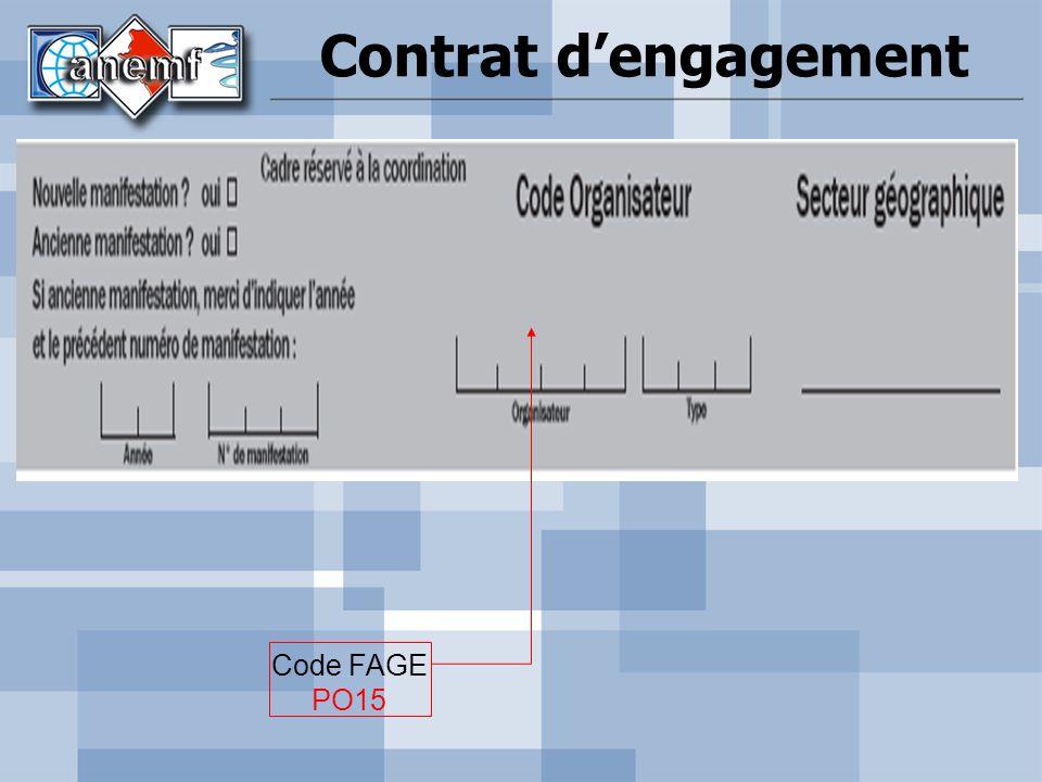 Contrat dengagement Code FAGE PO15