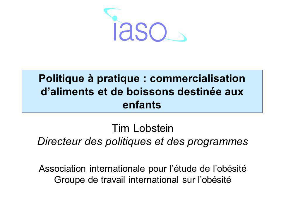 Merci Tim Lobstein tlobstein@iaso.org