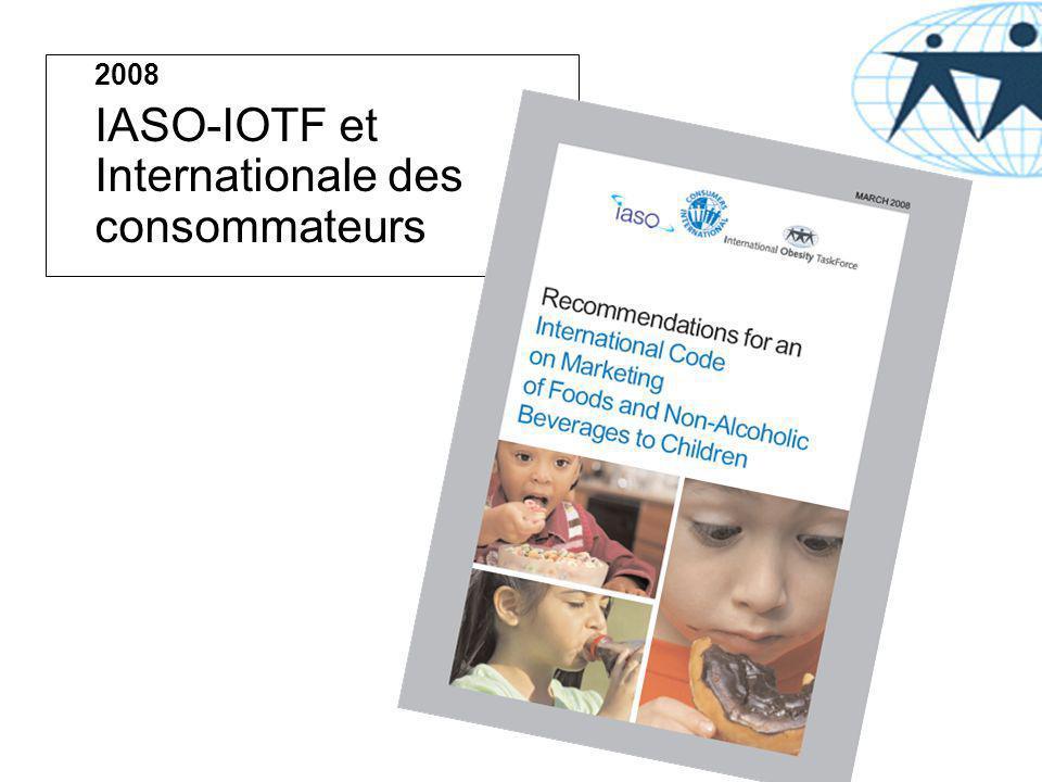 2008 IASO-IOTF et Internationale des consommateurs