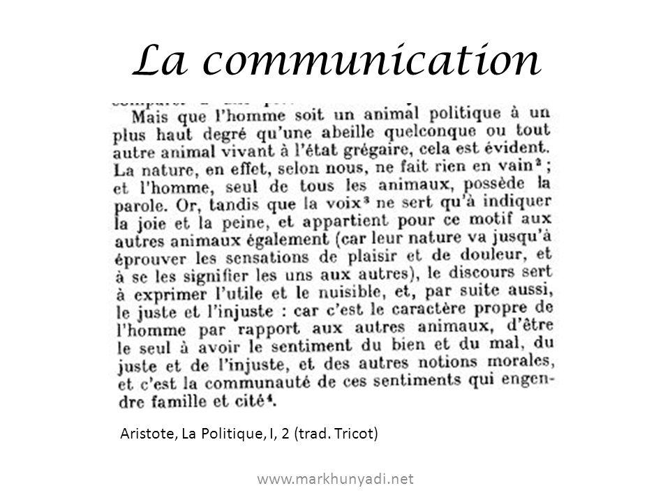 La communication Jusquau XXe siècle, lindividu reste « monologique » – Cf.