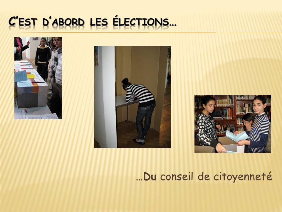…Du conseil de citoyenneté