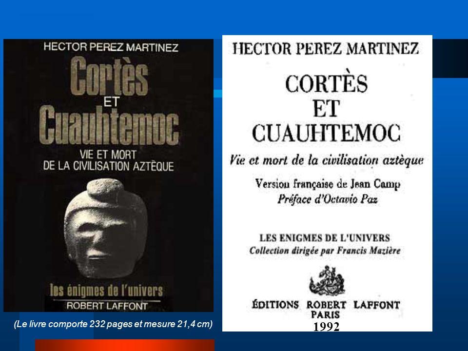 84 (Le livre comporte 232 pages et mesure 21,4 cm) 1992