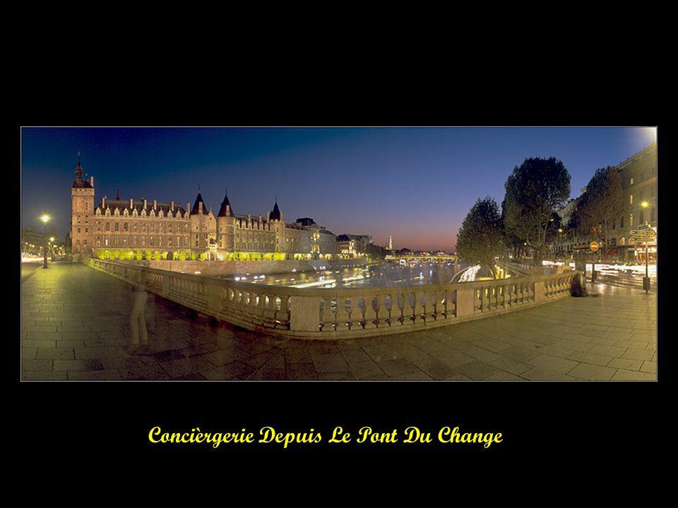 Chevet De Notre Dame De Paris