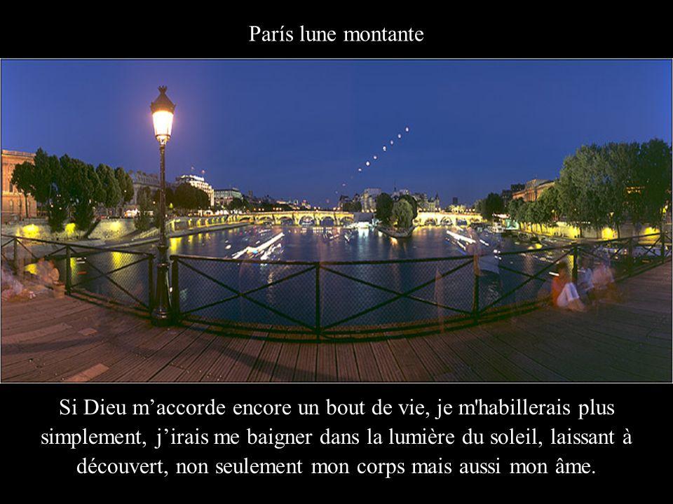 Fontaine Médicis, Jardín du Luxembourg Je voudrais continuer là où d'autres se sont arrêtés et je voudrais me lever alors que les autres dorment.