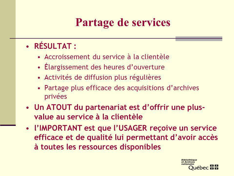 Avantages pour la Ville de Gatineau Économies déchelle réalisées pour le loyer et les frais de fonctionnement Partage de lexpertise Possibilités déchanges de services