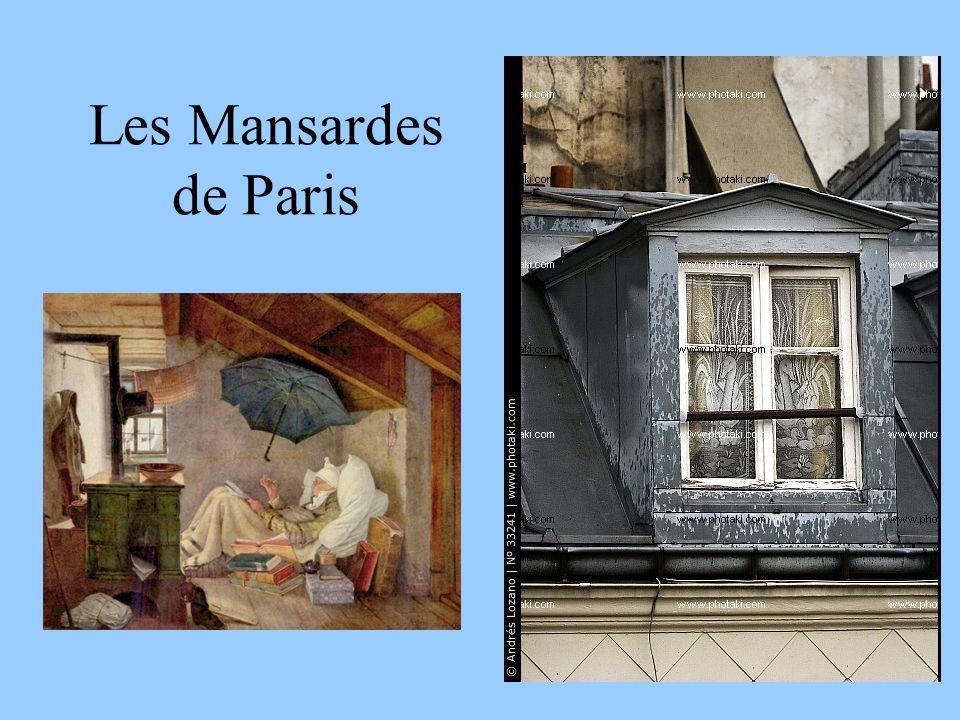 Les Mansardes de Paris