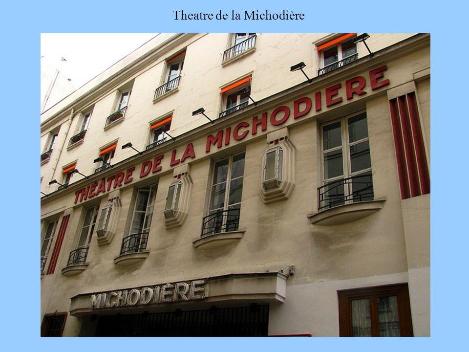 5/1/20149 Theatre de la Michodière