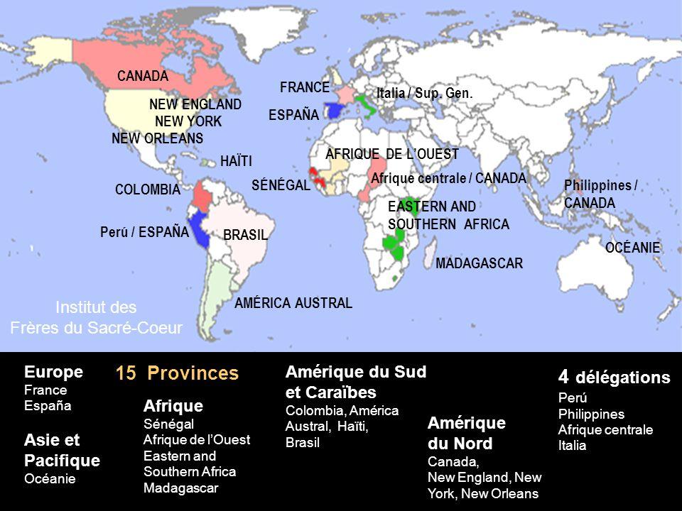 Amérique du Sud et Caraïbes Colombia, América Austral, Haïti, Brasil Europe France España Afrique Sénégal Afrique de lOuest Eastern and Southern Afric