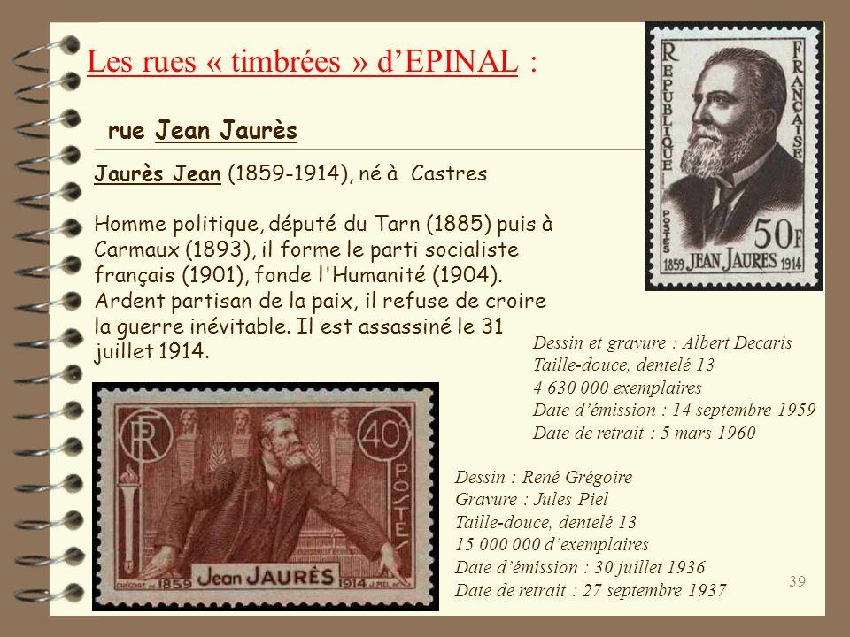 38 Joseph-Marie Jacquard (1752-1834), né à Lyon. Mécanicien, il est l'inventeur du métier à tisser qui porte son nom. rue Jacquard La machine Jacquard