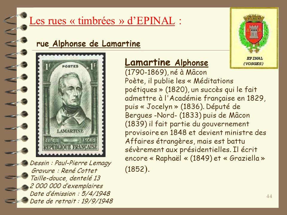 43 Jean de La Fontaine (1621-1695), né à Château-Thierry Poète, publie ses premiers recueils de « Contes » (1665-66) ainsi que les six premiers livres