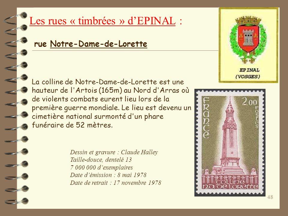 47 Dessin : Henri Fuss Héliogravure Dentelé 13 Émission : 12/11/79 Retrait : 7/11/80 Lorraine : Région du nord-est de la France comprenant les départe