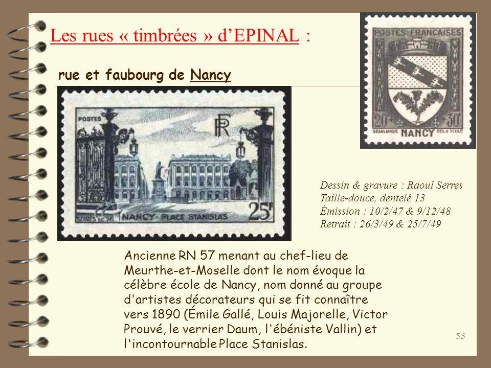 52 Dessin et gravure : René Cottet Taille-douce, dentelé 13 2 570 00 exemplaires Émission : 20 mai 1957 Retrait : 14 septembre 1957 Moulin Jean (1899-
