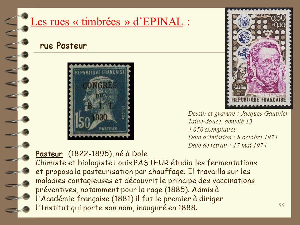 54 PARMENTIER Antoine Augustin (1737-1813), né à Montdidier. Pharmacien militaire, il introduisit la culture de la pomme de terre en France. Il mit au
