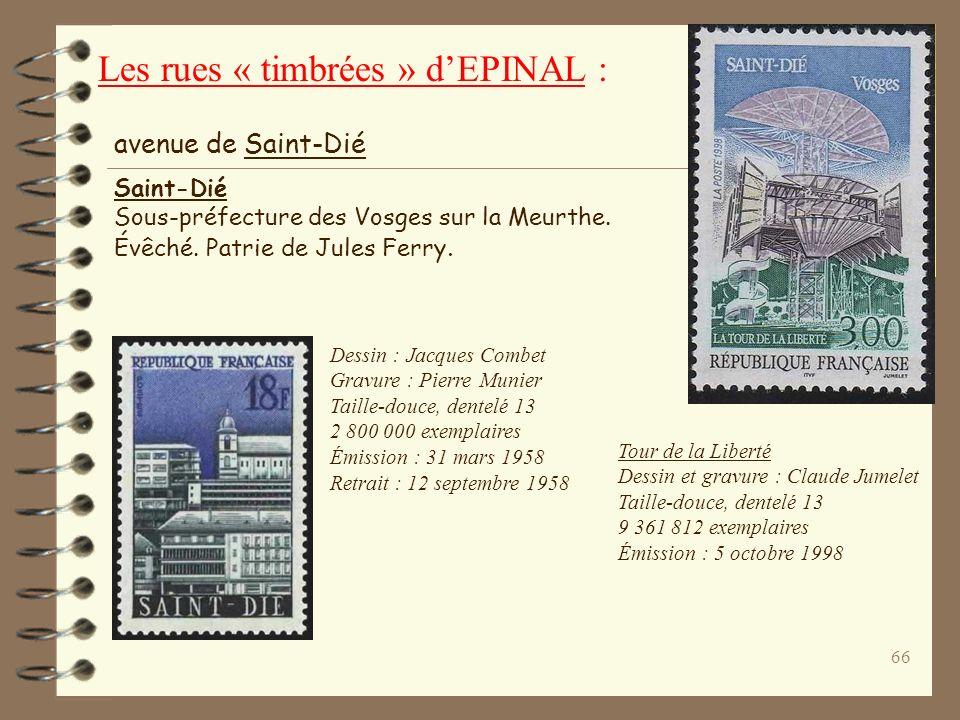 65 Mise en page : J-P Véret-Lemarinier Gravure : Claude Durrens Taille-douce, dentelé 12 ½ x 13 Émission : 29 novembre 1993 Retrait : 9 septembre 1994