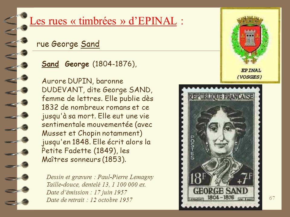 66 Tour de la Liberté Dessin et gravure : Claude Jumelet Taille-douce, dentelé 13 9 361 812 exemplaires Émission : 5 octobre 1998 Saint-Dié Sous-préfe
