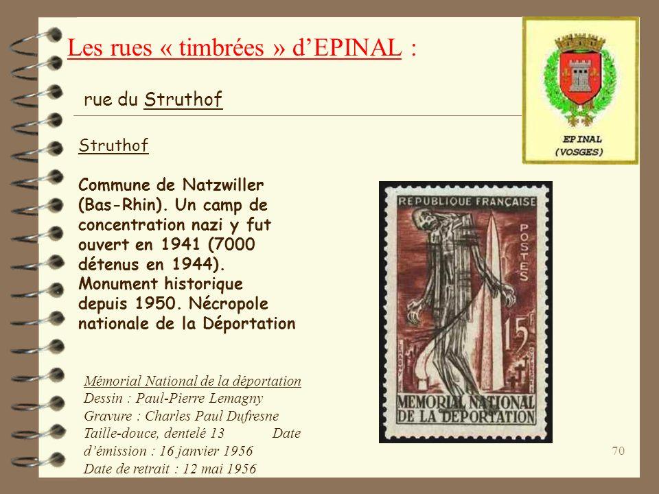 69 Le Souvenir Français Association fondée en 1887 pour l'entretien des tombes des militaires morts pour la France. rue du Souvenir Français Dessin :