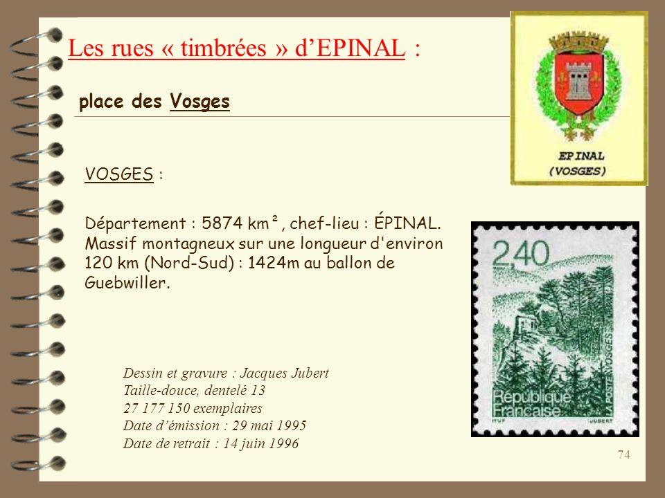73 Vigny (rue Alfred de) : (1797-1863), Écrivain, Alfred, comte DE VIGNY, fut militaire de 1814 à 1827. Il publie ses premiers Poèmes (1822), Poèmes a