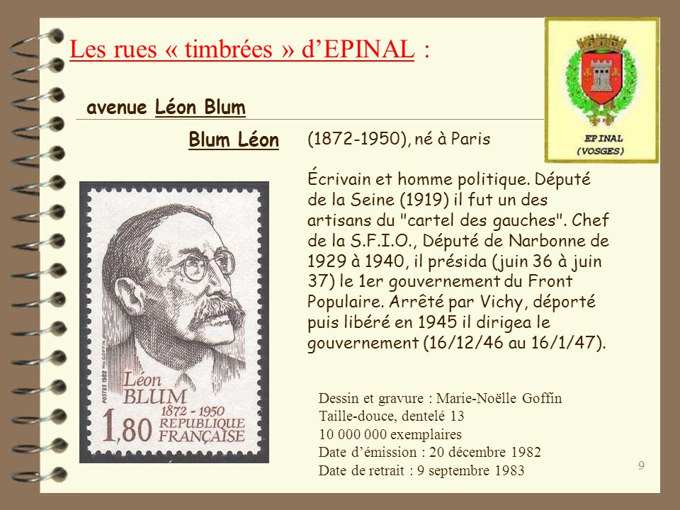 9 (1872-1950), né à Paris Écrivain et homme politique.