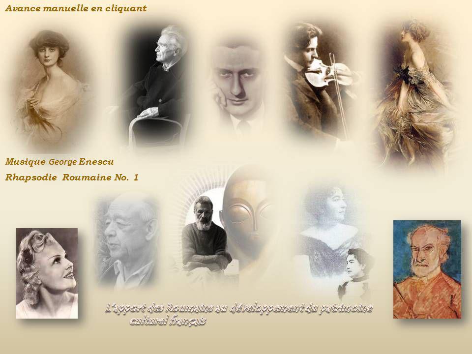 Avance manuelle en cliquant Musique George Enescu Rhapsodie Roumaine No. 1