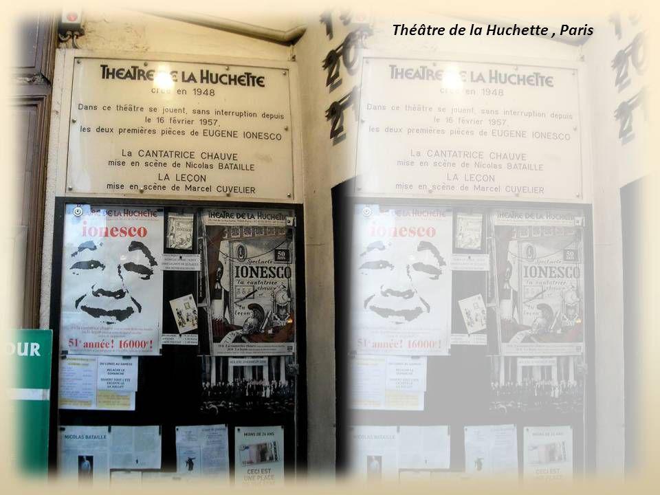 Eugène Ionesco est considéré, avec l'Irlandais Samuel Beckett, comme le père du théâtre de l'absurde, pour lequel il faut « sur un texte burlesque un