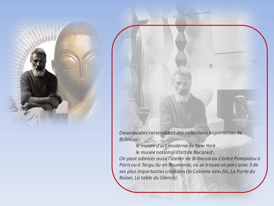 Constantin Brâncusi (1876-1957) est un des plus célèbres artistes roumains, et il est souvent considéré comme le plus grand sculpteur du XXe siècle. E