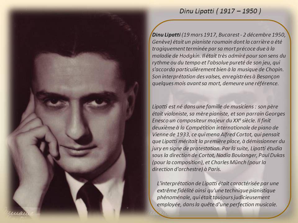 Enesco s'éteint au cœur de Paris, veillé notamment par la reine de Belgique, dans la nuit du 3 au 4 mai 1955 et est inhumé au cimetière du Père-Lachai