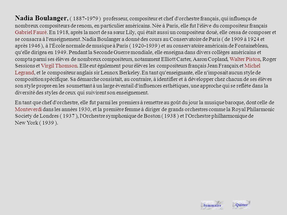André Boucourechliev, ( 1925- ), compositeur et musicologue français d'origine bulgare. Installé à Paris en 1949, il travailla au studio di Fonologia