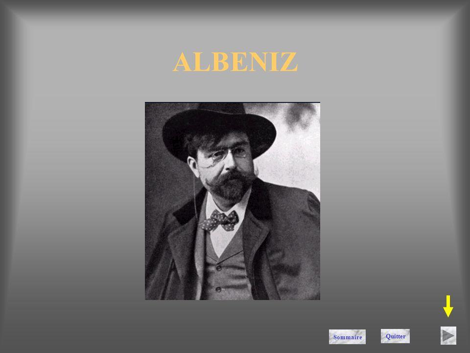 ALBENIZ Quitter Sommaire