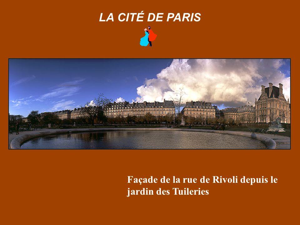 L'Institut de France & le Pont Neuf depuis le Pont des Arts LA CITÉ DE PARIS