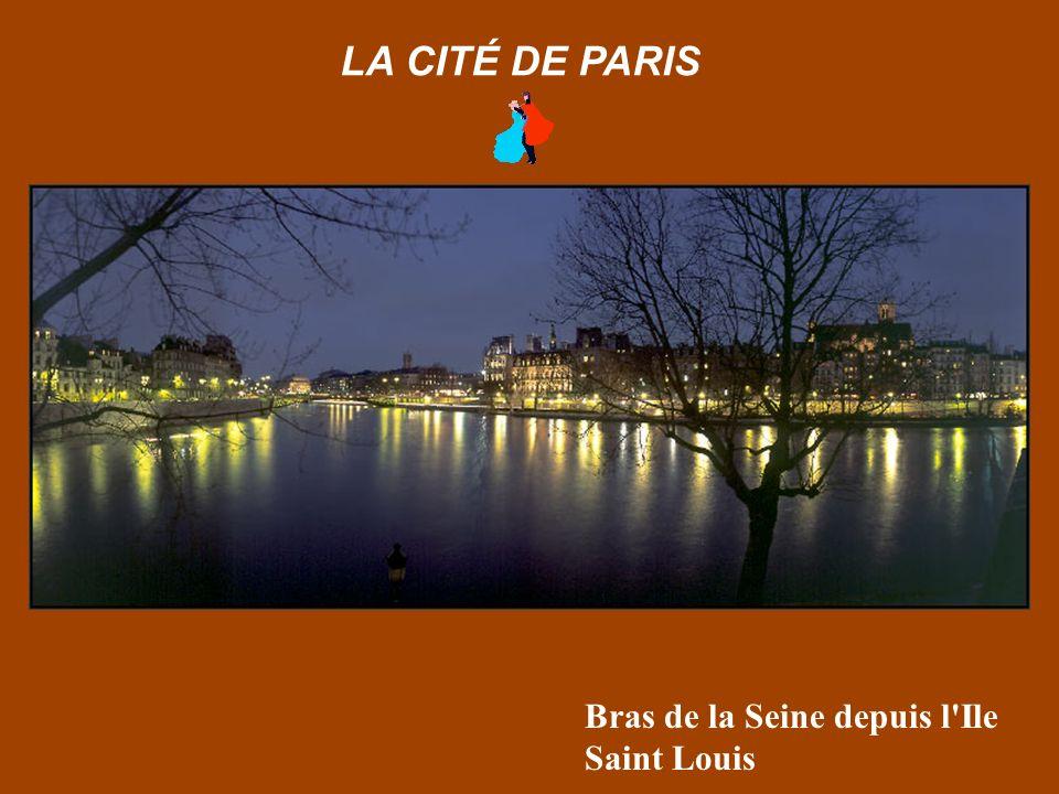 Façade de la rue de Rivoli depuis le jardin des Tuileries LA CITÉ DE PARIS