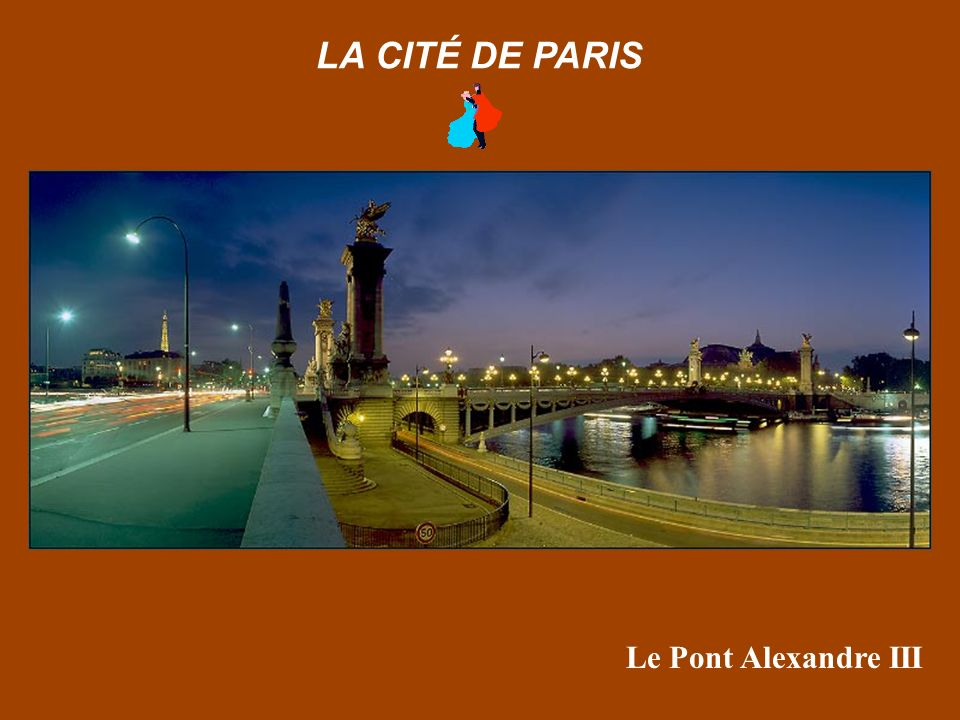 Bras de la Seine depuis l'Ile Saint Louis LA CITÉ DE PARIS