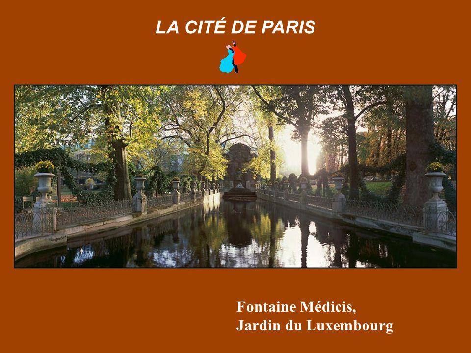 Paris depuis le Quai du Louvre LA CITÉ DE PARIS