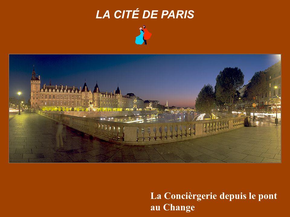 Bras de la Seine depuis l Ile Saint Louis LA CITÉ DE PARIS